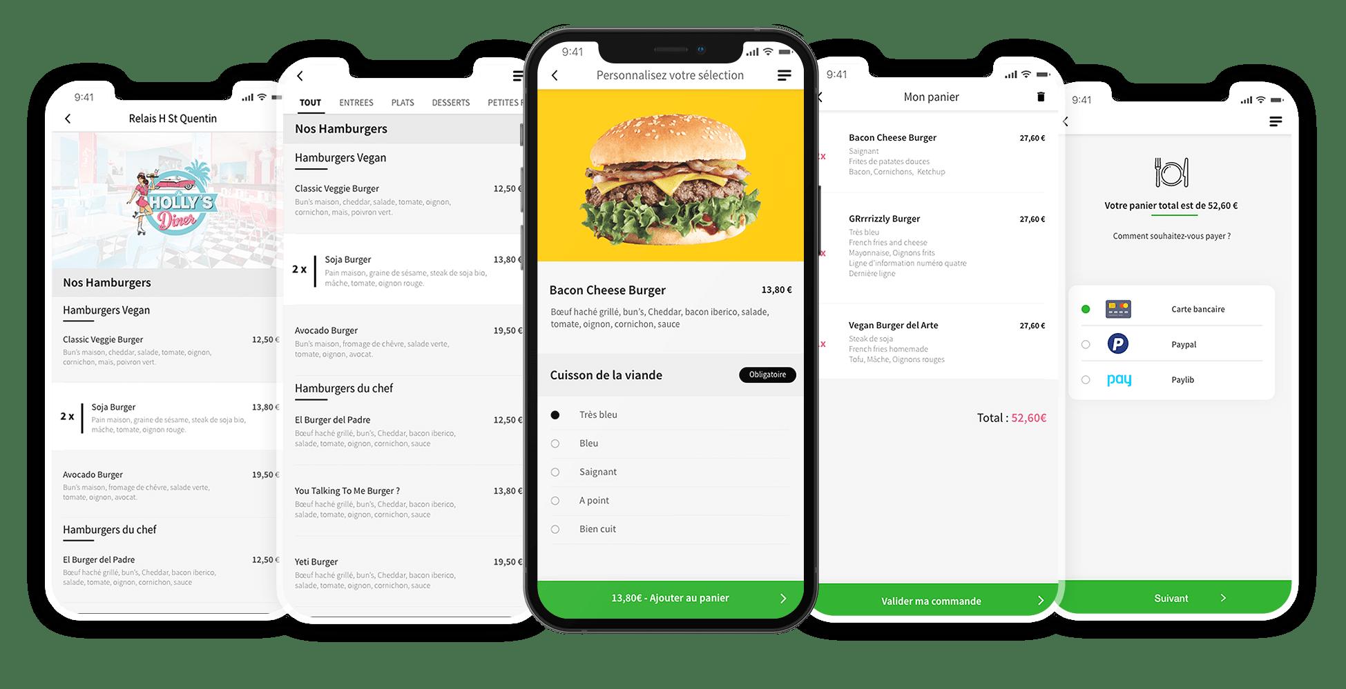 Order-it screens